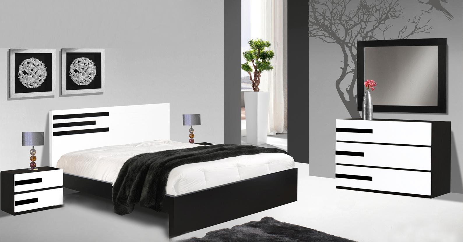 Mobilia de quarto de casal moderno for Mobili quarto